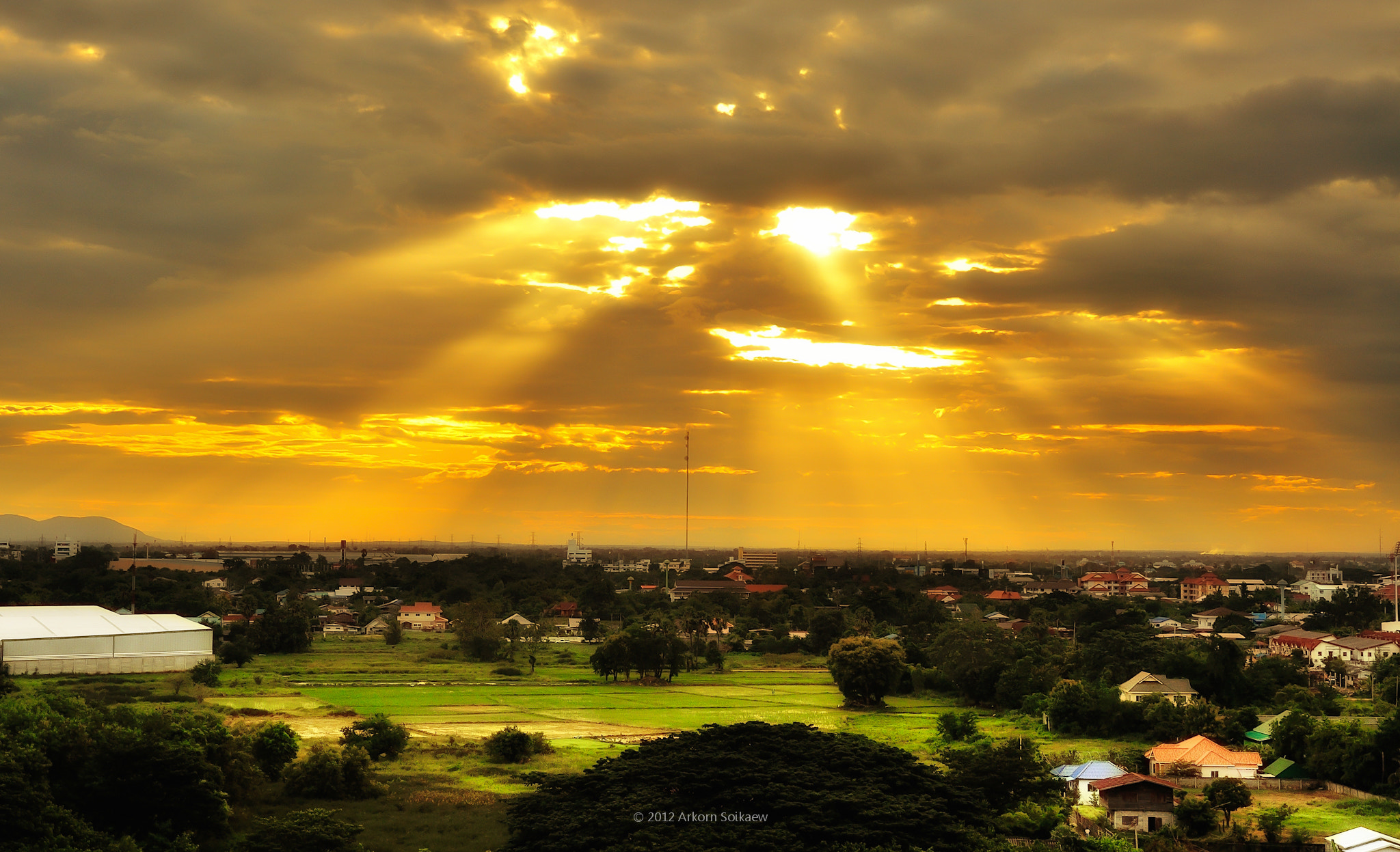 Photograph Crepuscular Ray by Arkorn Soikaew on 500px