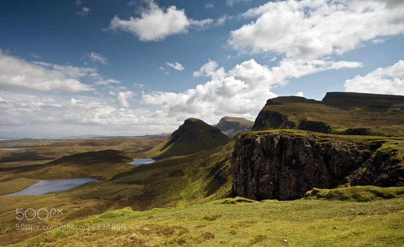 Photograph The Quirang, Isle of Skye, Scotland by Heather Leslie Ross on 500px