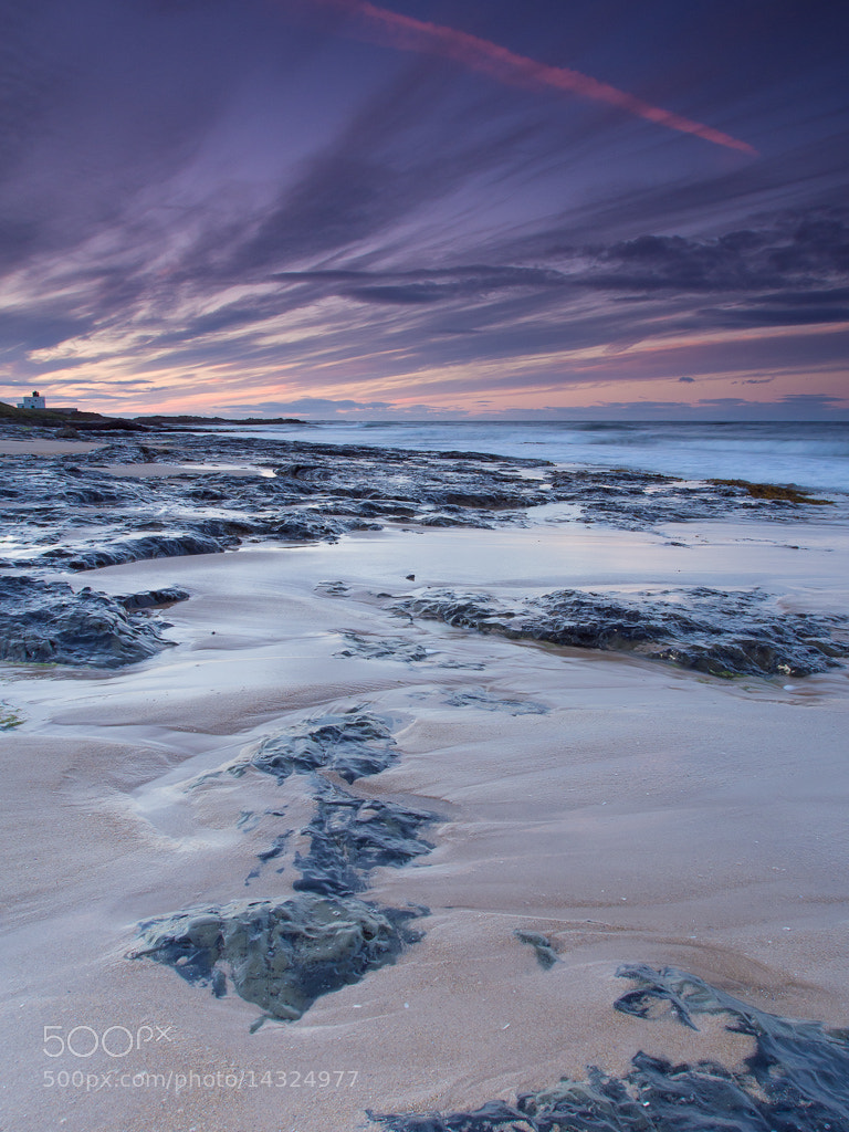 Photograph Retreating Tide, Northumberland by Keith Muir on 500px
