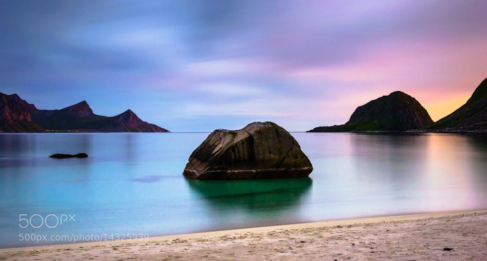 Photograph Haukland beach by Jon K. Elstad on 500px