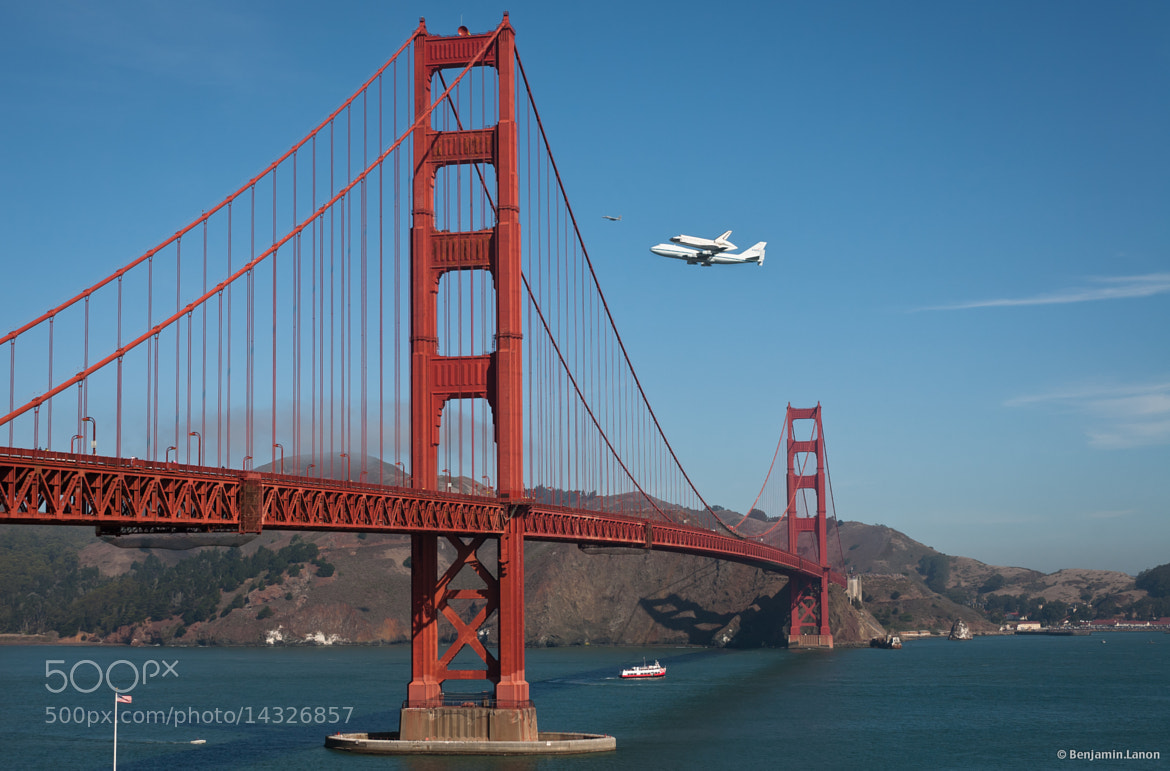 Photograph Endeavour over SF by Benjamin Lanon on 500px