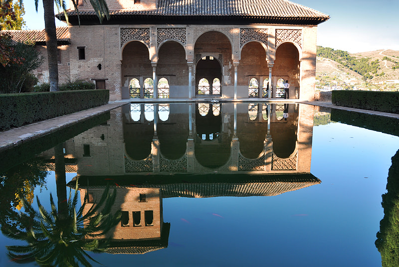 Photograph Portico and pool of the early 14th-century Partal... by Magda Indigo on 500px