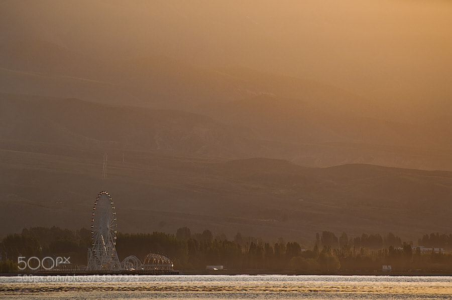 Photograph Dawn on Issyk-Kul by Anna  Smirnova on 500px