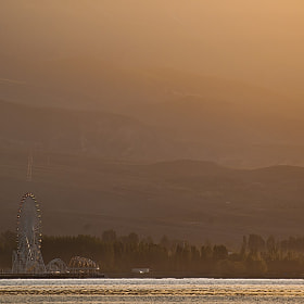 Dawn on Issyk-Kul by Anna  Smirnova (AnnaSmirnova)) on 500px.com