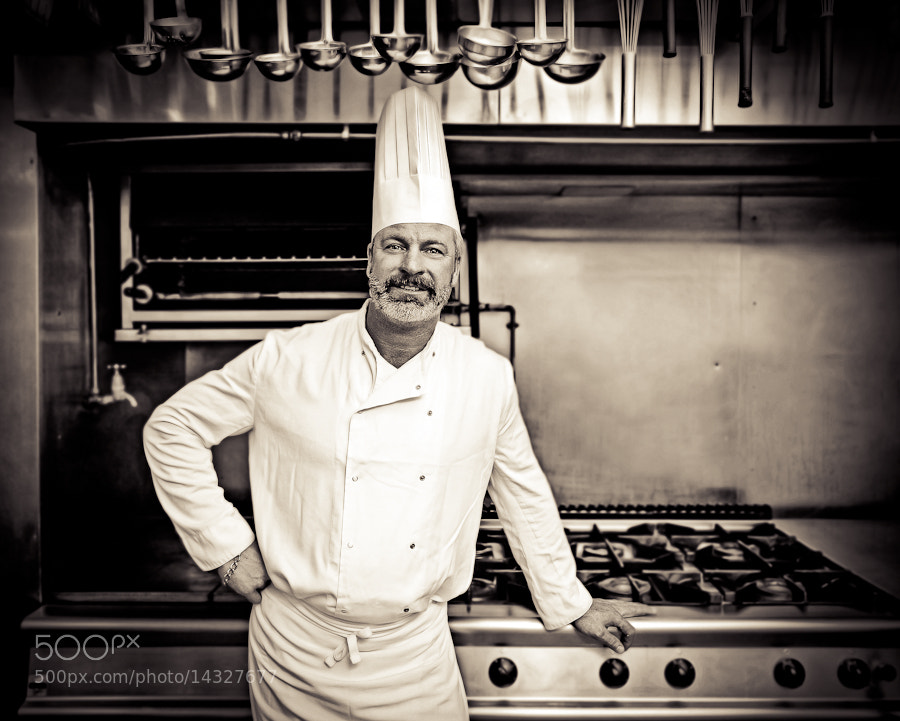 Photograph Chef by Druvo Art on 500px