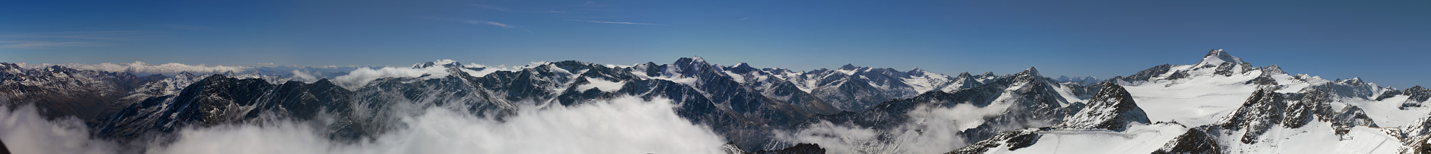 Photograph Panoramic view from the Rettenbachgletscher by Robert Steichele on 500px