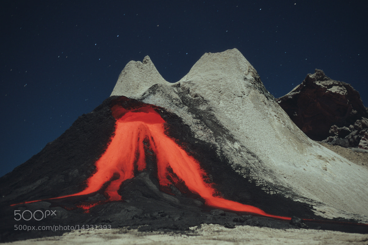 Photograph Carbonatite Lava Flows from a Hornito in the Crater of Oldoinyo Lengai Volcano, Tanzania by Richard Roscoe on 500px