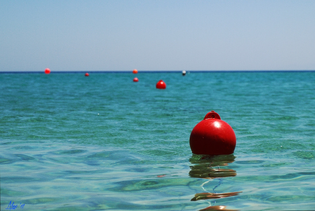 Photograph Red Buoy by Alex Z. on 500px