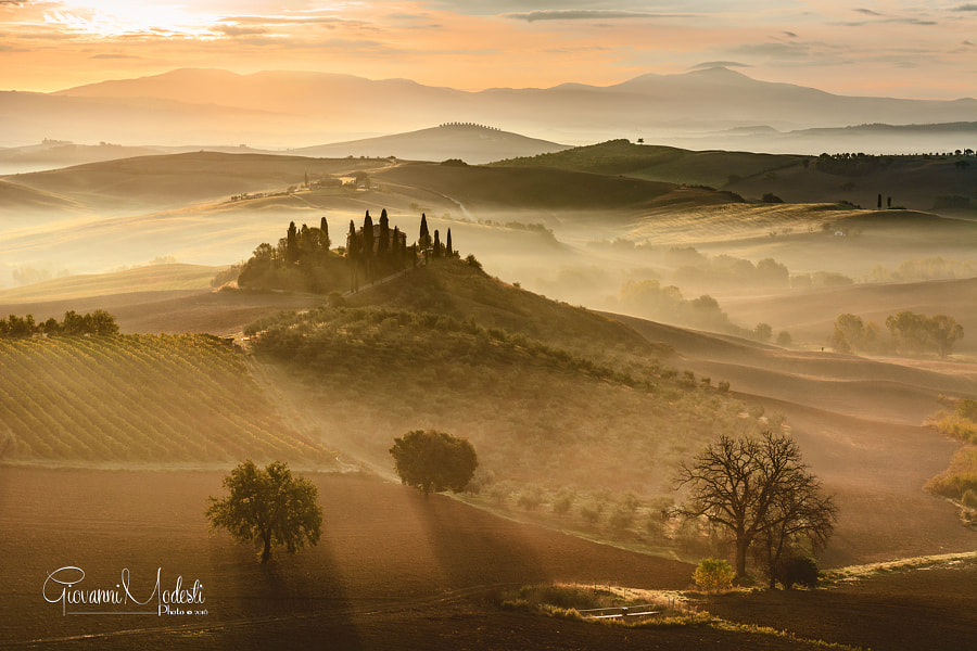 Golden sunrise by Giovanni Modesti on 500px.com