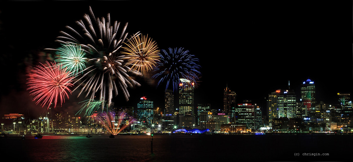Photograph Auckland Fireworks by Chris Gin on 500px