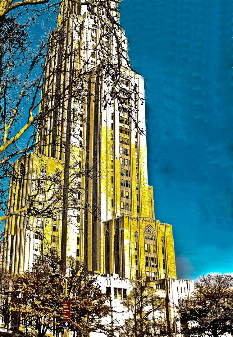 Photograph Cathedral of Learning by GWD Photography on 500px