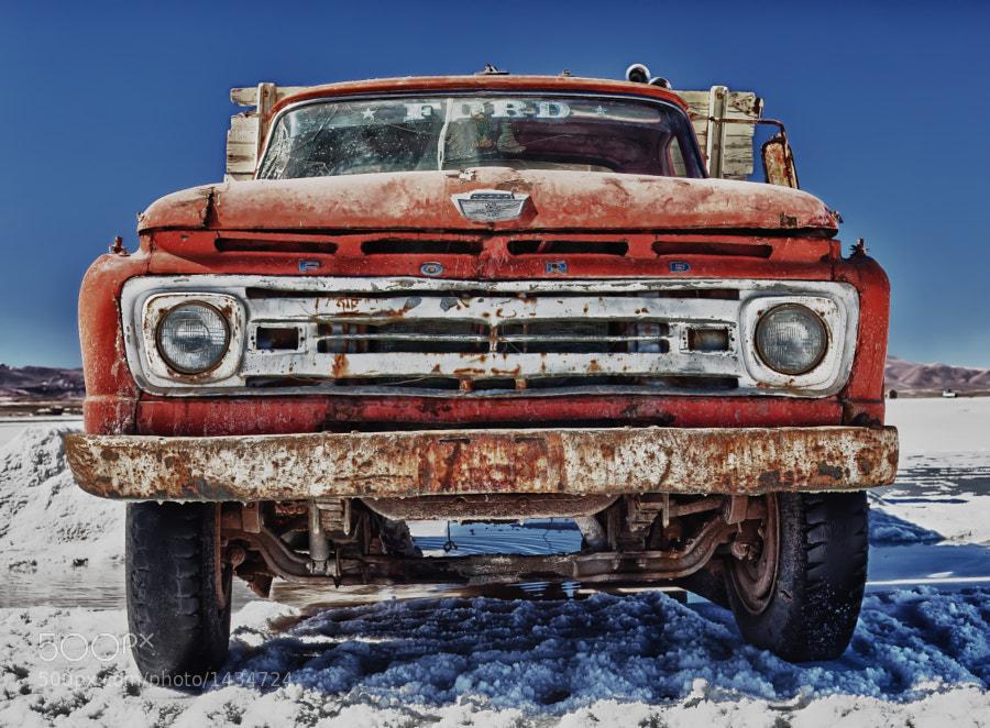 Salt Flat Truck by carlos restrepo (carlosrestrepo) on 500px.com