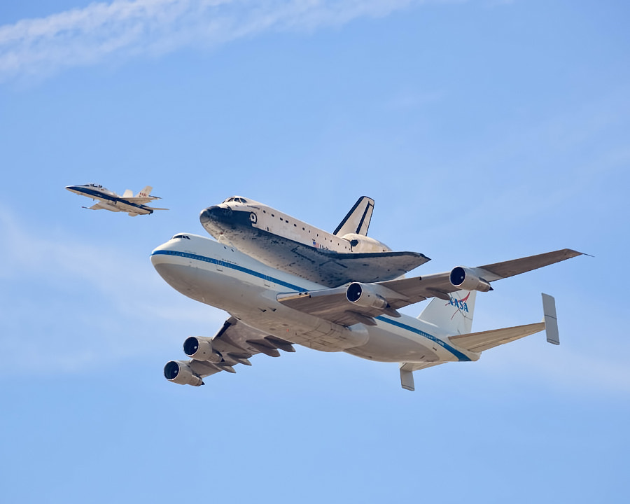 Photograph The Last Air Time - Space Shuttle Endeavour by Andrew J. Lee on 500px