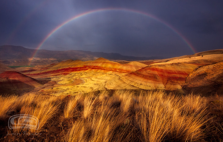 "Photograph ""DESERT RAINBOW"" by James Fougere on 500px"