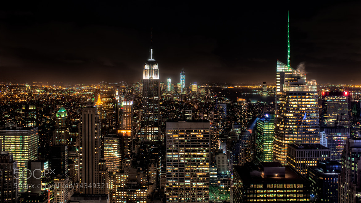 Photograph City Of Lights by Marco Hofmann on 500px
