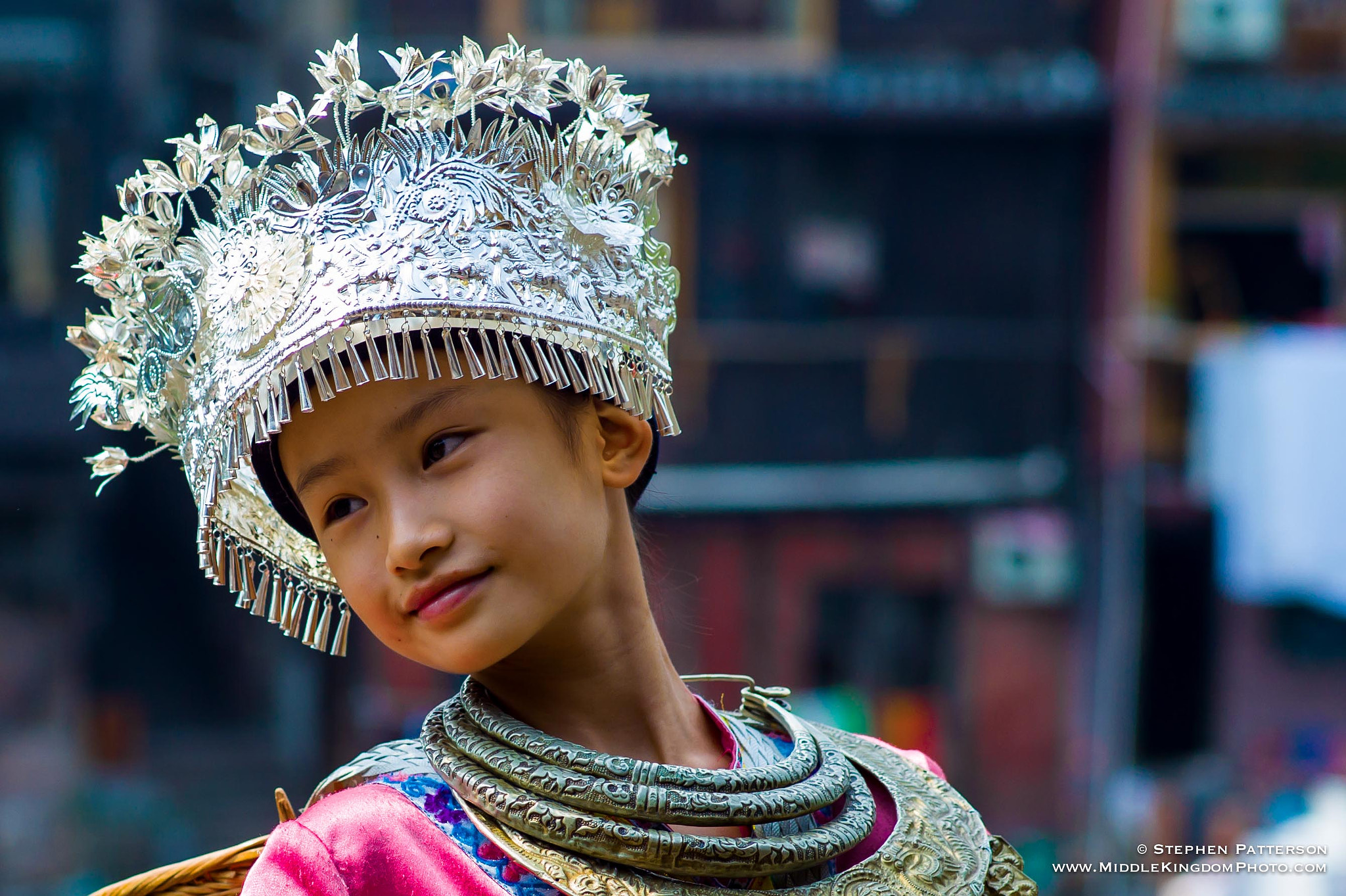 Photograph Young Miao Girl by Stephen Patterson on 500px
