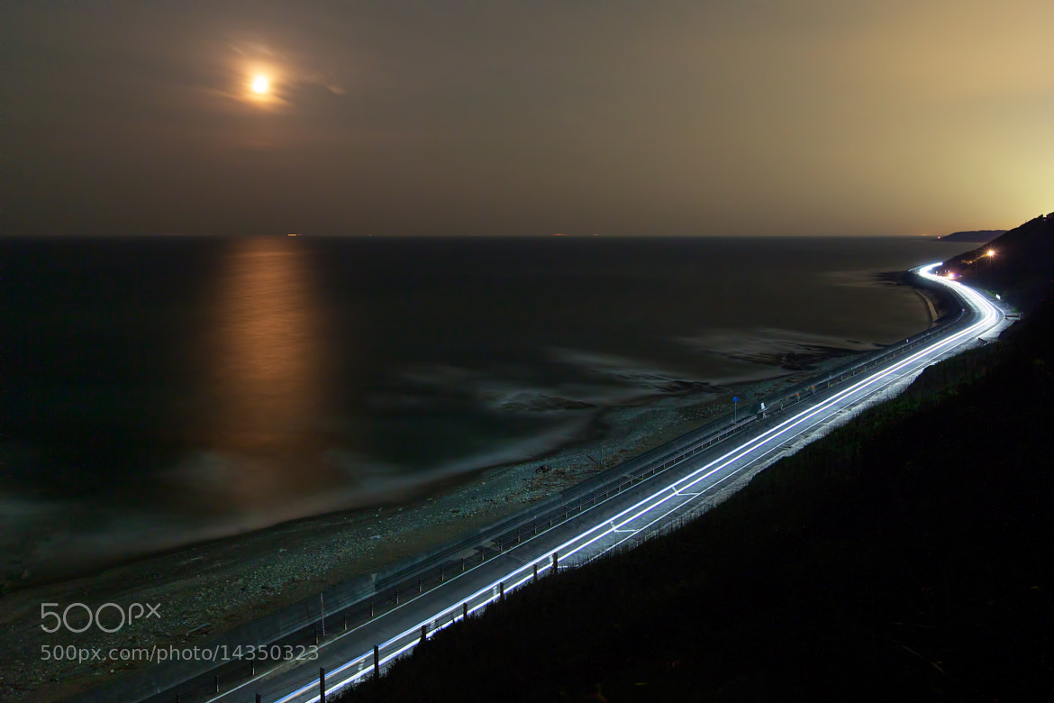 Photograph Seashore under the moon by MIYAMOTO Y on 500px