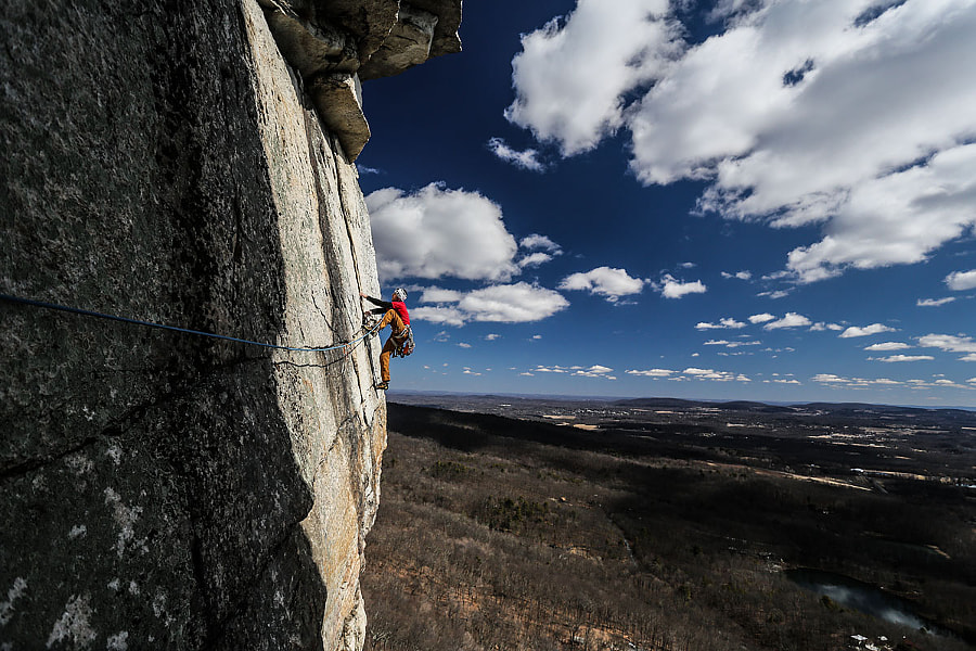 Climbing in the Shawangunks by Chris Vultaggio on 500px.com