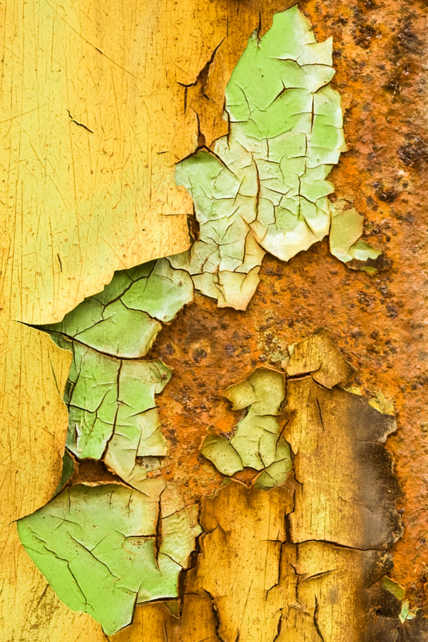 Rust and flaking paint 2