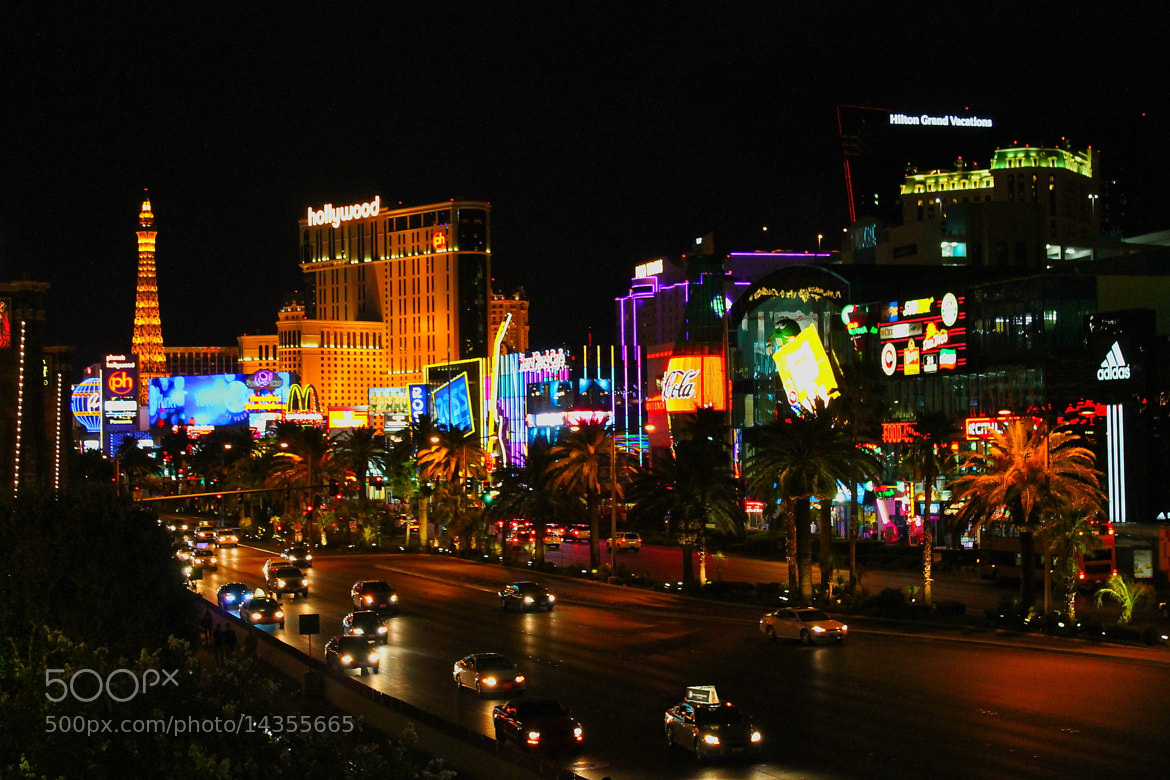 Photograph The strip at night :) by Yuval Moran on 500px