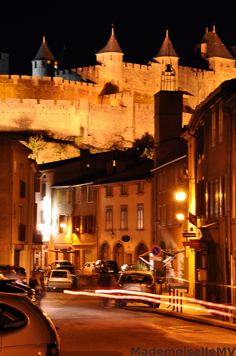 Photograph Trivalle street by night by Mademoiselle MV on 500px