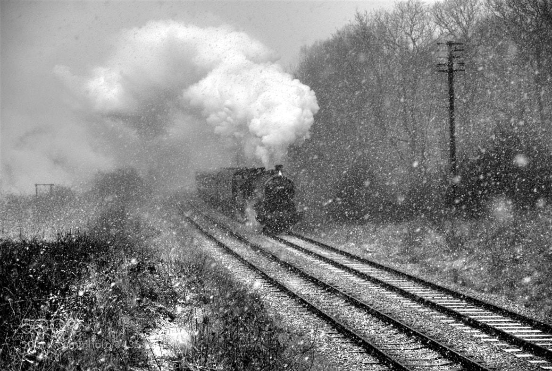 Photograph The Snow Train by Trevor Wain on 500px
