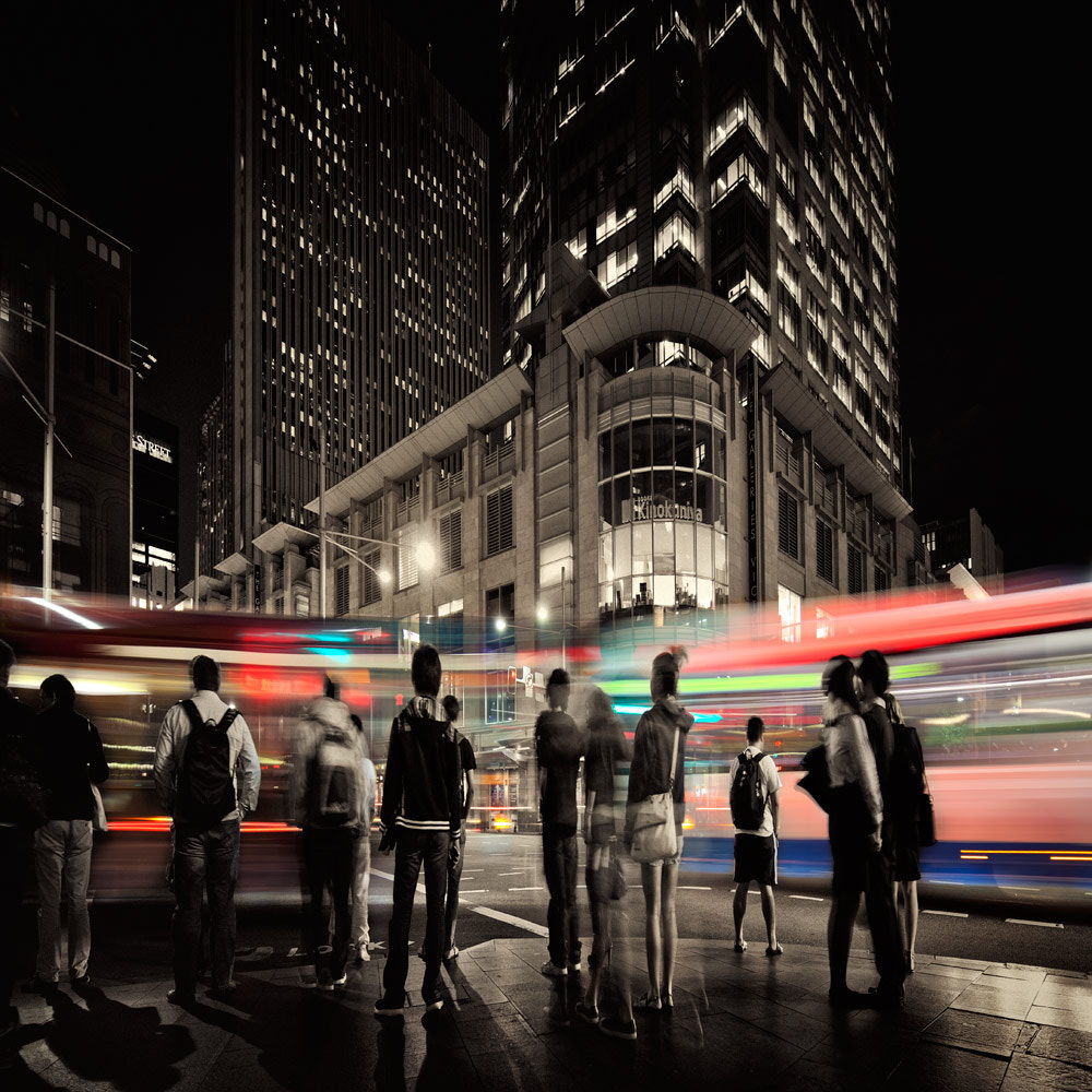 Photograph CITY MOVES! by shoaib  on 500px