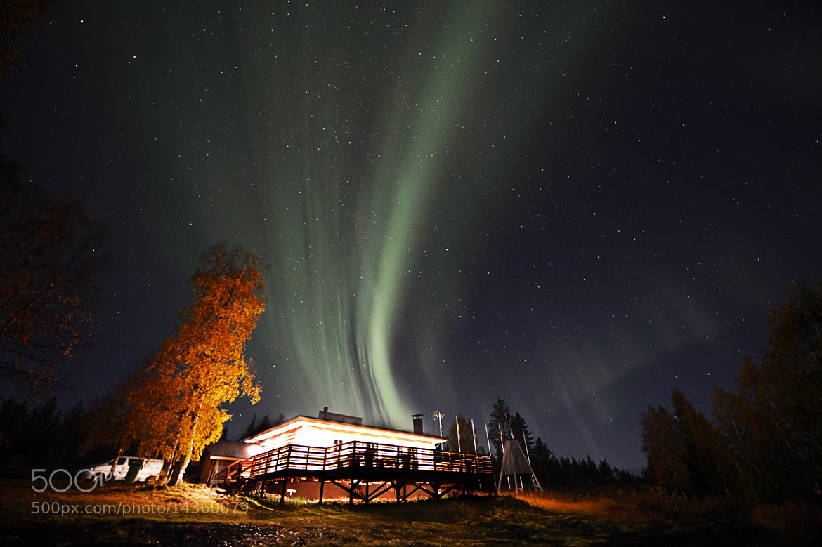 Photograph Aurora in Lapland by Peter Blakeman on 500px