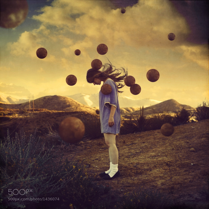 Photograph Adjusting Oxygen Levels by Brooke Shaden on 500px