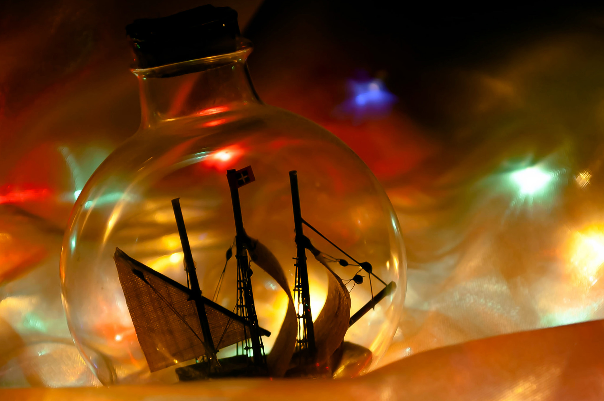 Photograph Ship in a Bottle by Longland  River on 500px