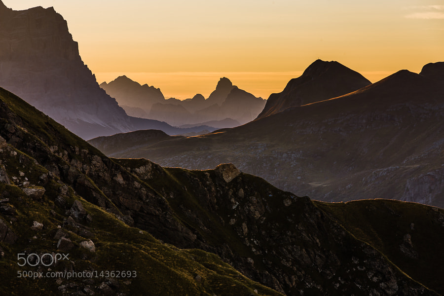 Photograph Morning Light at Passo Padon by Hans Kruse on 500px