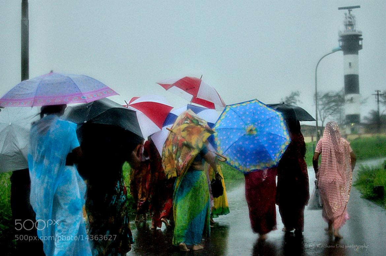 Photograph A colourful rainy day by Krishanu  Das on 500px