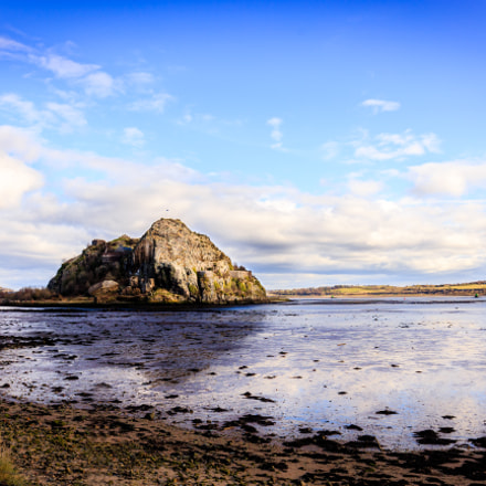 Dumbarton Rock in Scotland