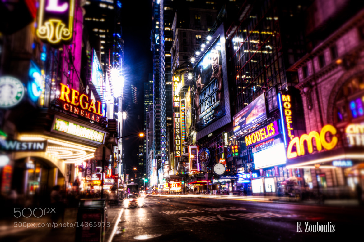 Photograph New York City Broadway Impressions by Zouboulis Photography on 500px