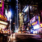 Постер, плакат: New York City Broadway Impressions