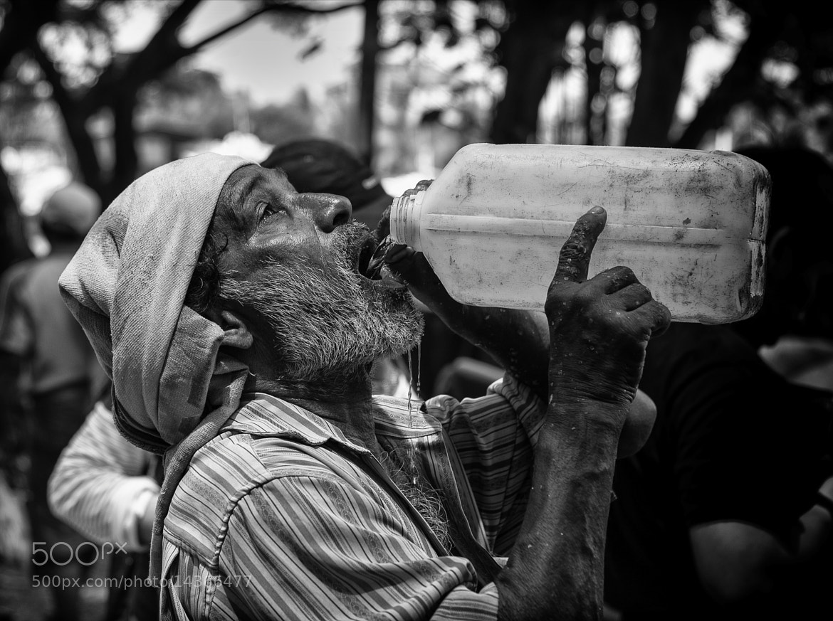 Photograph quenching his thirst by hamni juni on 500px
