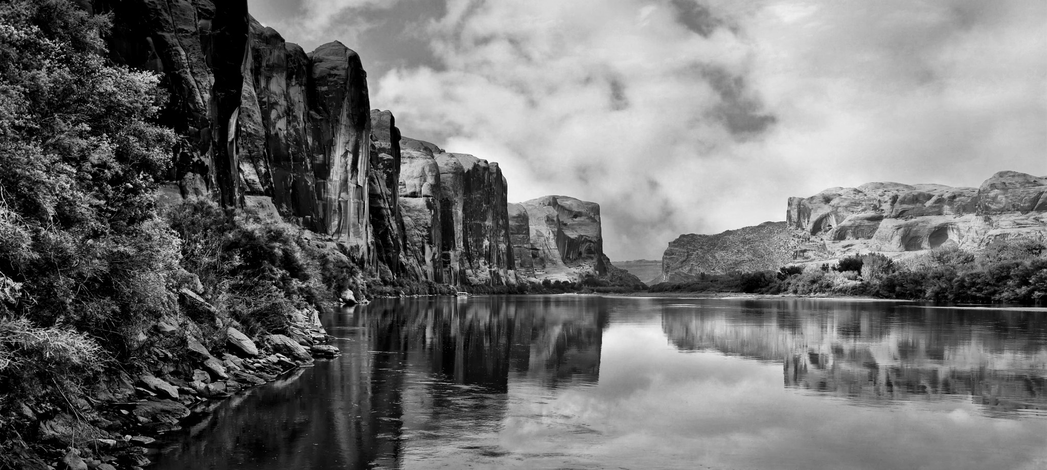 Photograph Along the River by Jeff Clow on 500px