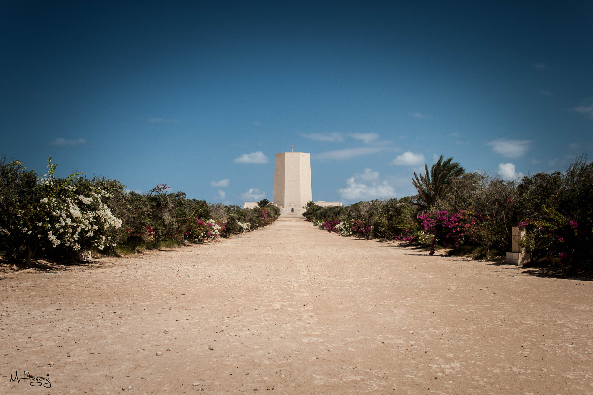 Photograph Italian Military Cemetery at El Alamein / Egypt by Mohamed Hegazi on 500px