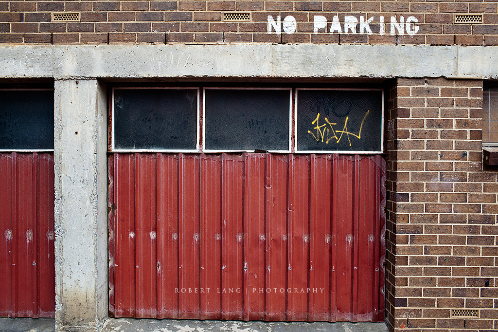 Photograph No Parking by Robert Lang on 500px