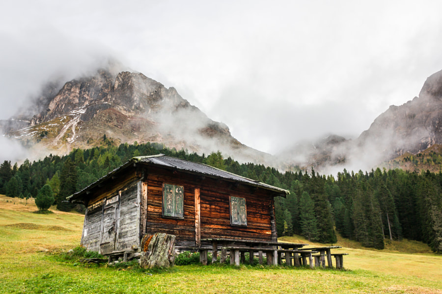 Old cabin in the mountains. by Azri Ayob on 500px.com