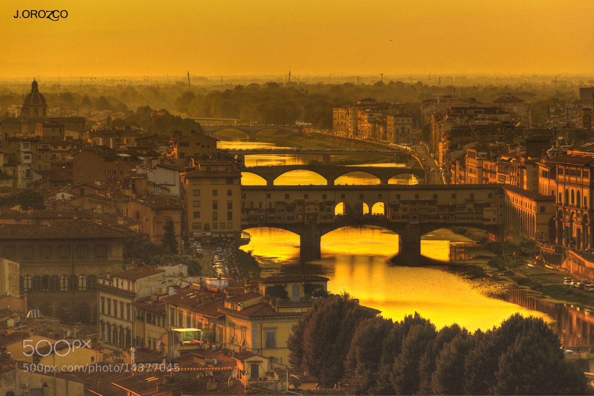 Photograph La hora dorada, Florencia. by jose orozco on 500px