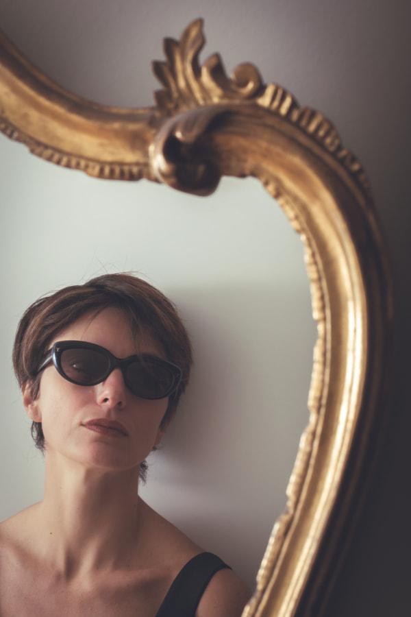 Francesca allo specchio