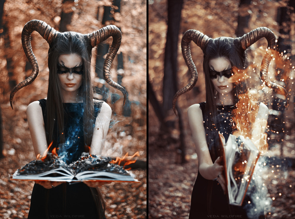 Photograph Forest Spirit by Veda Wildfire on 500px