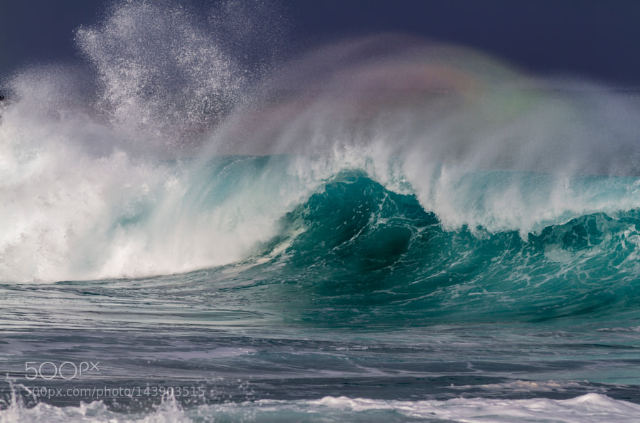 Rainbow wave by KellyHeadrick