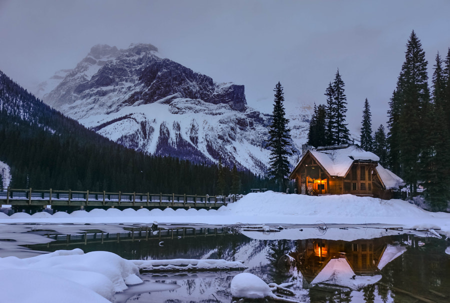 Emerald Lake Lodge by Nazmul Islam on 500px.com