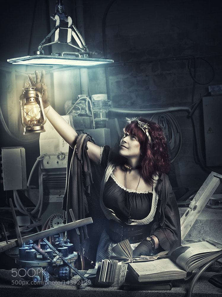 Photograph Steampunk dreams by Rebeca  Saray on 500px