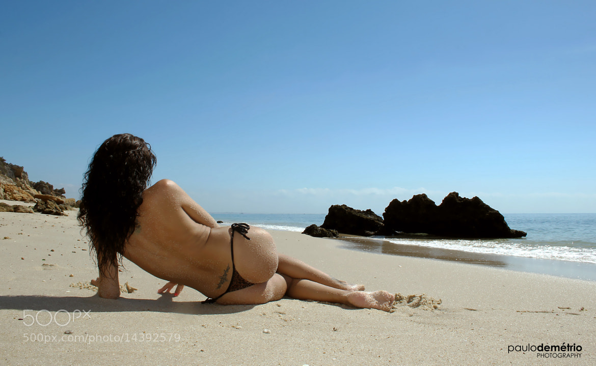 Photograph Lady at the beach  by Paulo Demétrio on 500px