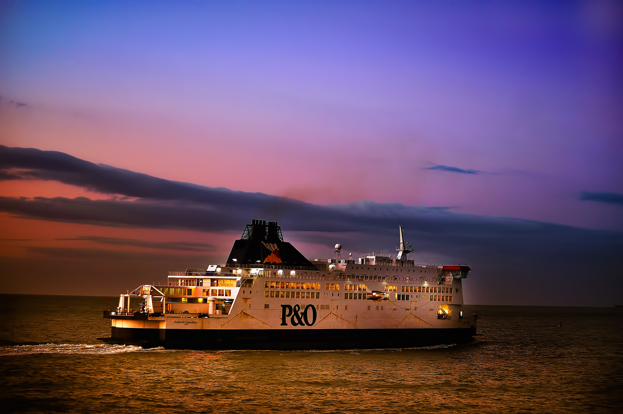 Photograph the ferry by Jozsef Balogh on 500px