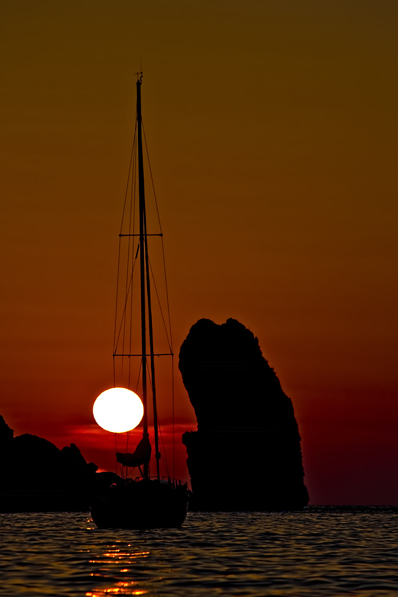 Photograph Sunset on Isola del Giglio by Danilo Dionigi on 500px