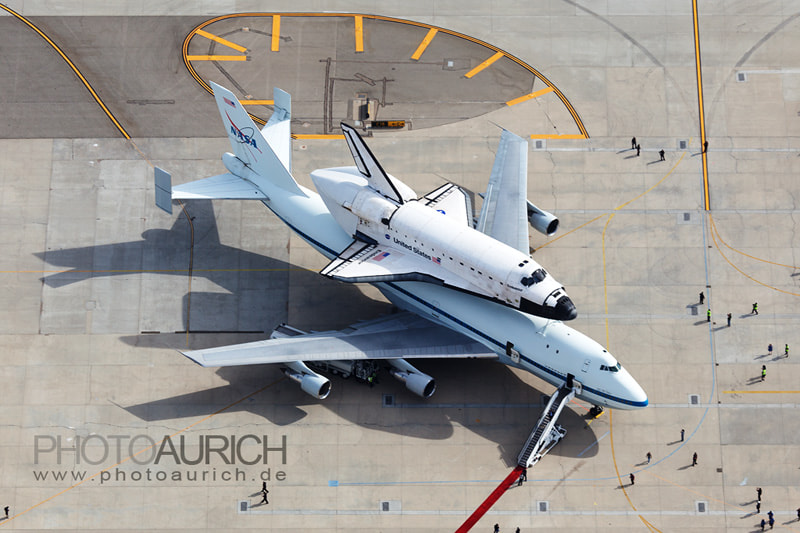 Photograph Space Shuttle Endeavour at LAX by Mario Aurich on 500px